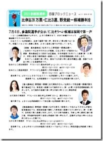 参院選・四国ブロックニュース2